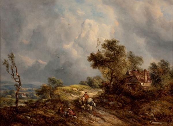 Richard-H-Hilder-oil-painting-landscapes-pair-antique-3653_1_3653
