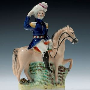 ANTIQUE STAFFORDSHIRE FIGURE OF PRINCE ALBERT