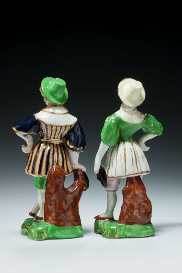 Staffordshire-theatrical-figures-holding-masks-rare-Victorian-antique-4803_1_4803