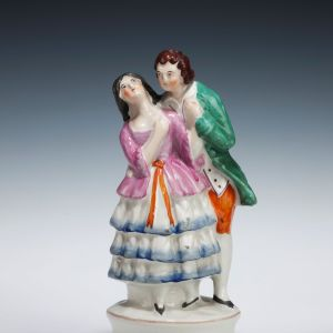ANTIQUE STAFFORDSHIRE THEATRICAL FIGURE