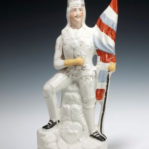 ANTIQUE STAFFORDSHIRE FIGURE OF HENRY V