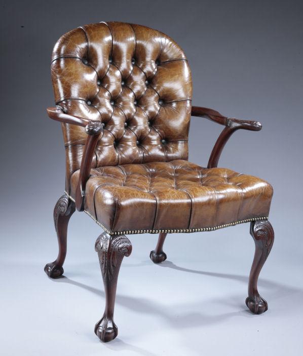 antique mahogany desk chair richard gardner antiques