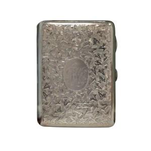 ANTIQUE SILVER CARD CASE