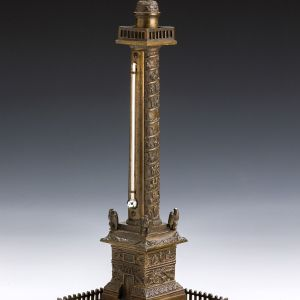 ANTIQUE BRONZE MODEL OF COLONNE E LA GRANDE ARMEE