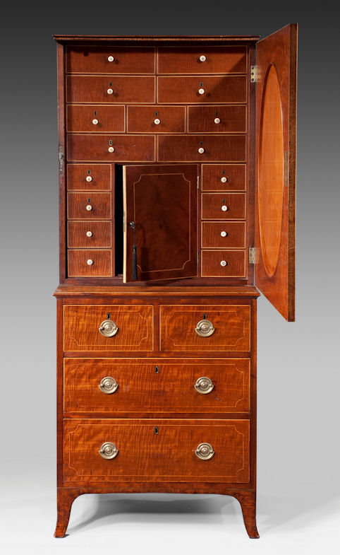 cabinet-on-chest-mahogany-small-antique-GeorgeIII-Sheraton-Hepplewhite-1665_1_1665