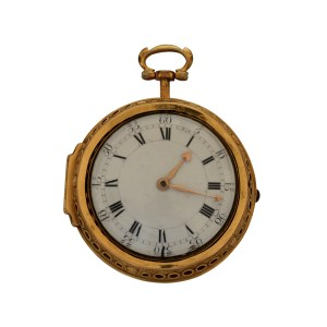 GEORGE TYLER GOLD CLOCK WATCH PRESENTED BY QUEEN ANNE