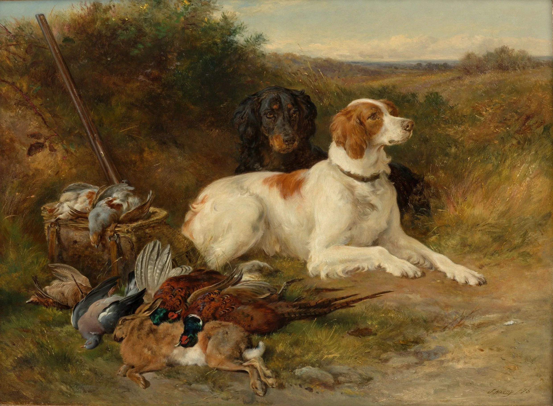 Famous Gun Hunting Paintings