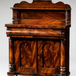 ANTIQUE MINIATURE MAHOGANY CHIFFONIER