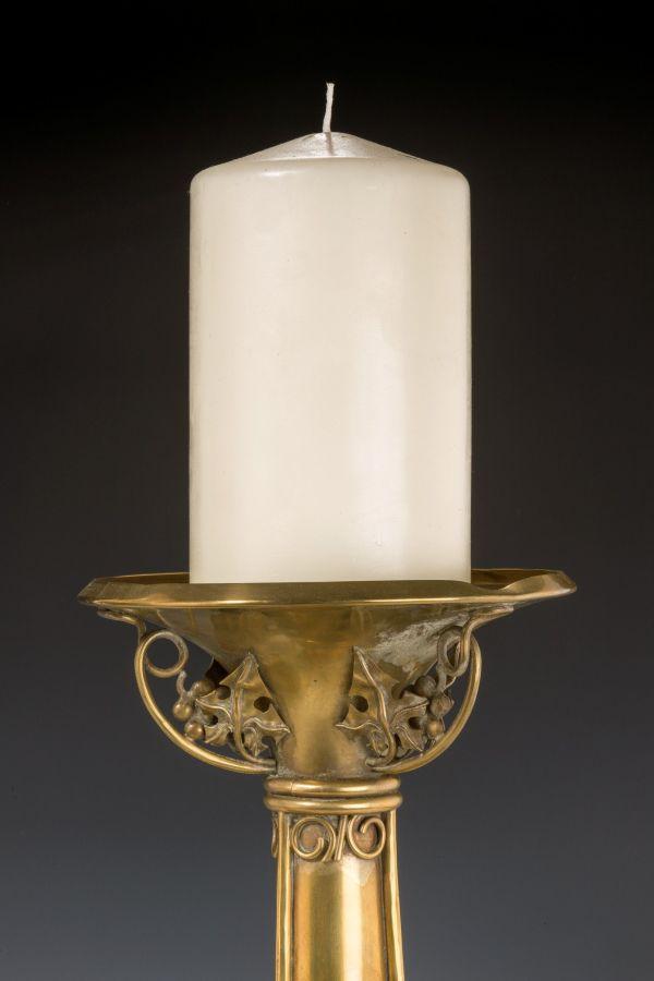 pair-candlesticks-large-Arts-Crafts-brass-19th-century-antique-5489_1_5489