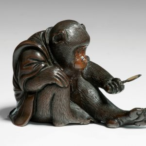 JAPANESE BRONZE MONKEY