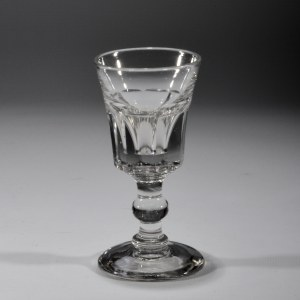 19TH CENTURY DRINKING GLASS