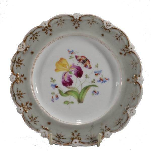antique-plates-painted-butterflies-flowers-staffordshire-19th-century-DSC_9192