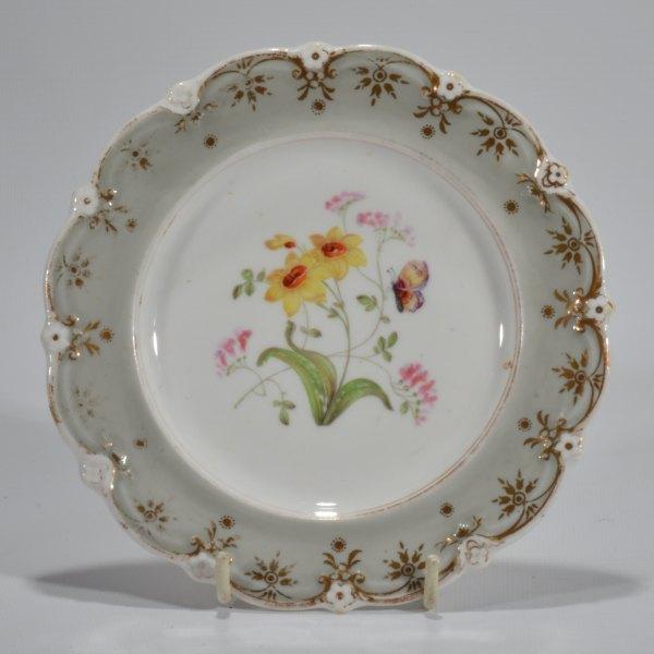 antique-plates-painted-butterflies-flowers-staffordshire-19th-century-DSC_9194