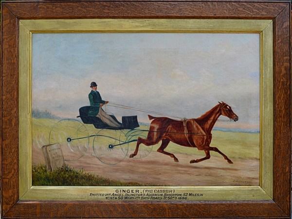 edward-garraway-oil-painting-folk-art-horse-ginger-trotting-for-sale- DSC_9694 (2)