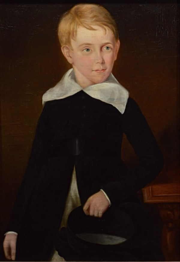 antique-provincial-school-painting-three-children-19th-century-DSC_9847Cd