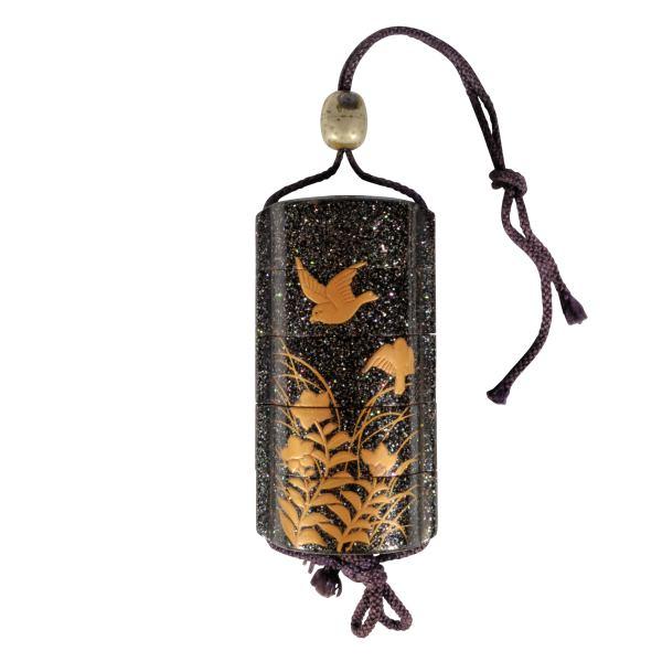antique-japanese-inro-lacquered-4-case-shunsho-ojime-DSC_9962a