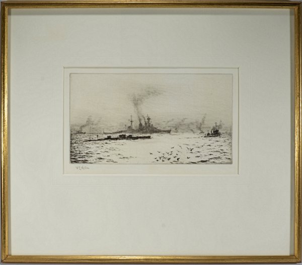 william-wyllie-etching-HMS-hood-submarine-antique-DSC_9927a
