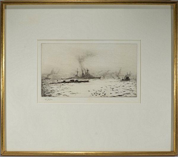 william-wyllie-etching-HMS-hood-submarine-antique-DSC_9927a
