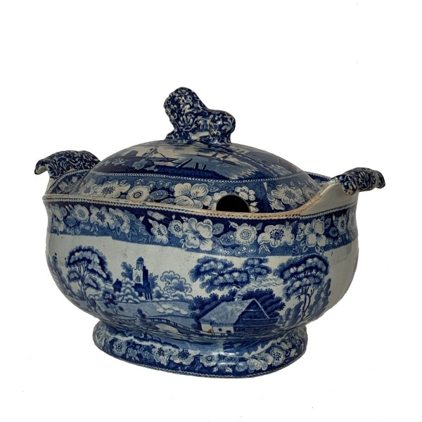 antique-blue-white-soup-tureen-pottery-transfer-printed-IMG_3354