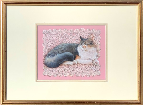 lesley-anne-ivory-watercolour-painting-cat-agneatha-_6193