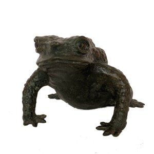 FIND ANTIQUE BRONZE FIGURE OF A TOAD FOR SALE IN UK