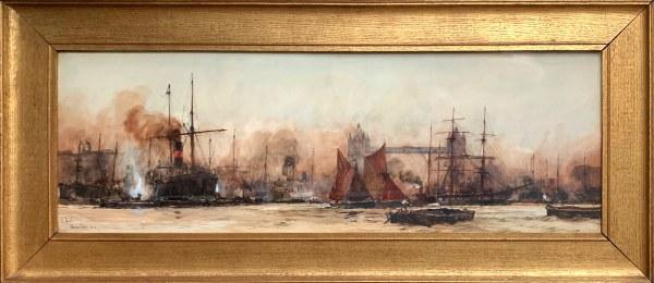 charles-dixon-watercolour-river-thames-london-tower-bridge-IMG_6443