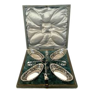 FIND ANTIQUE SILVER BON BON DISHES FOR SALE IN UK