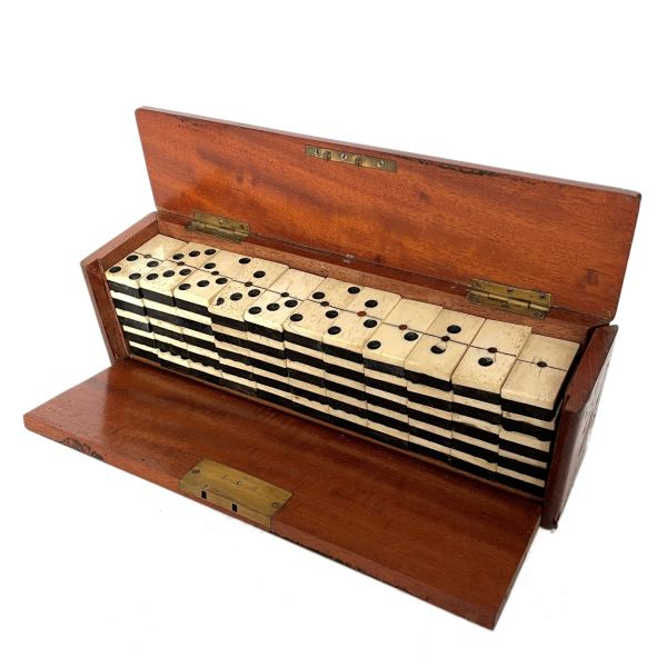 FIND ANTIQUE DOUBLE NINE DOMINOES FOR SALE IN UK