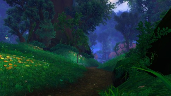 Val'Shara has an almost painterly art style thanks to excessive use of blur and bloom.