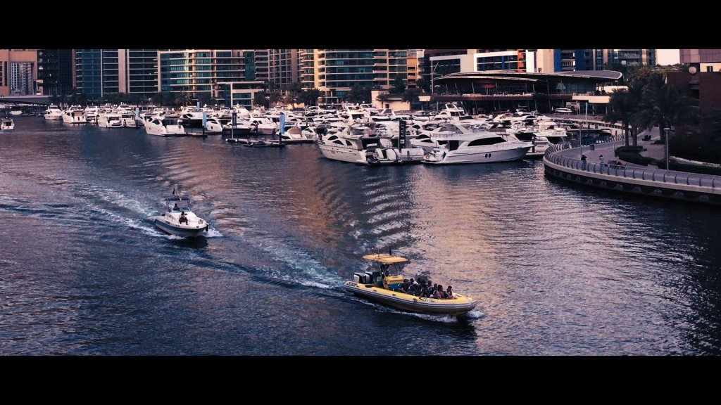 Cinematic iPhone Footage - Dubai Marina 150%