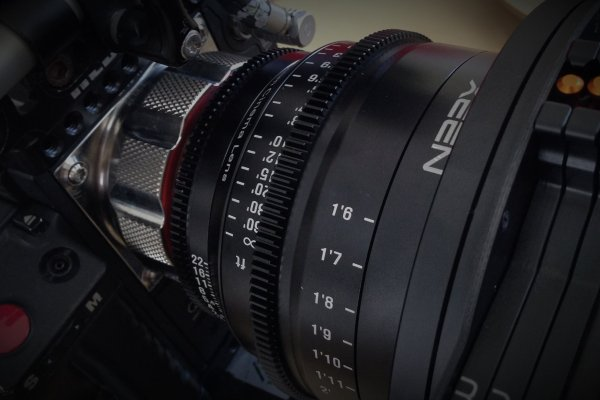 Red Epic with Xeen lens background image