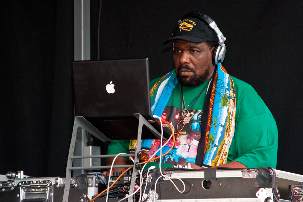 afrika bambaataa and Zulu Nation @ Afro-Punk festival July 5th performances