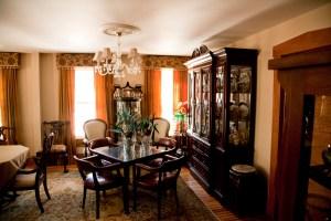 Sawyer Mansion - Informal dinning area