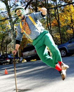 Vermont a Mummer Performing