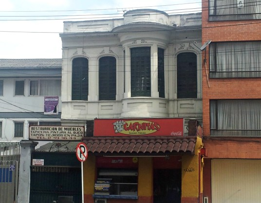 Blink and you'll miss it, there's a neo classical building just off the Avenida Caracas