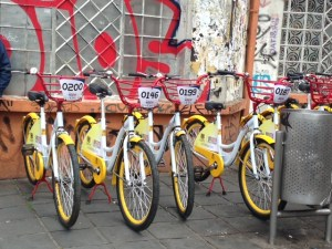 The Bogota Humana bicycles