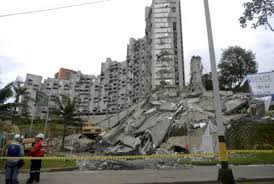 Courtesy of RCNradio, the Space Building in Medelling, showing the collapsed Tower 6