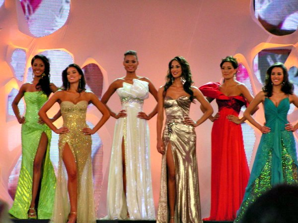 Miss Colombia pageant in Cartagena