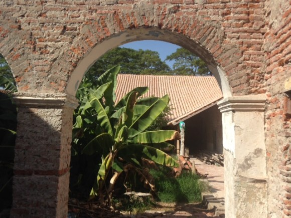 An archway in the Casa San Rafael or House No.3