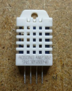 AM2302, humidity and temperature sensor, a.k.a. DHT22 apparently