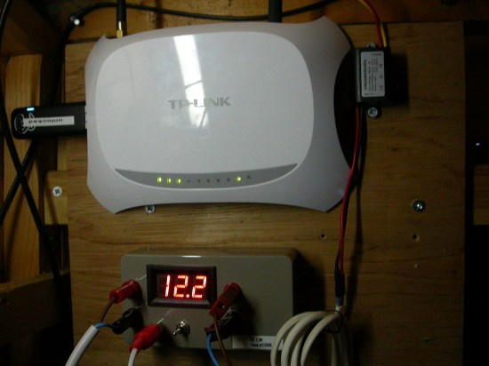 the MiFi node and power management
