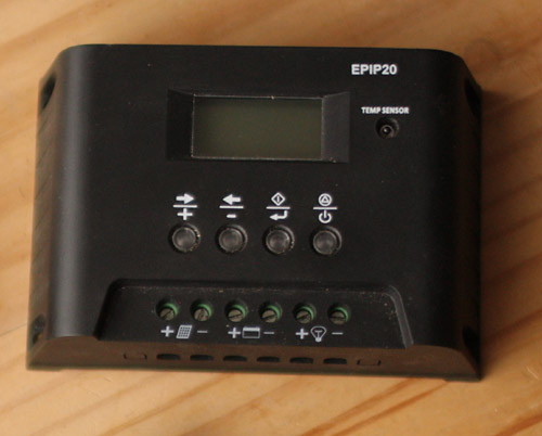 PWM controller with display