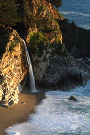 McWay Waterfall, Pacific Highway 1, CA