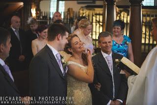 Wedding in St peters church Croft near darlington