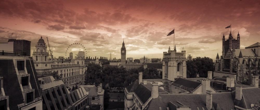 London sunset part done