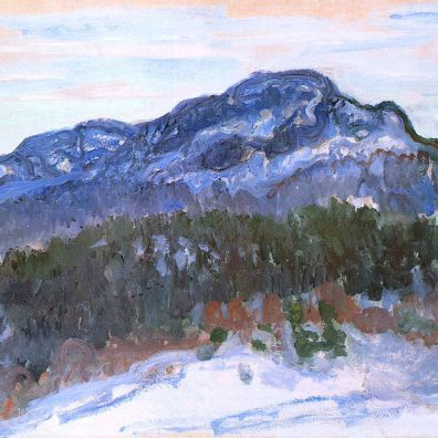 Claude Monet. Mount Kolsaas, 1895