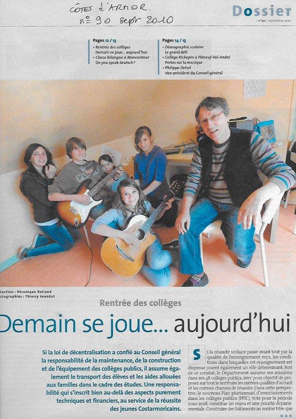 Côtes d'Armor -Le magazine n°90 - septembre 2010