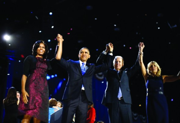 Picture of Obama Victory Celebrations