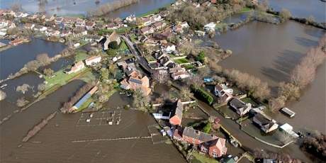 Flooding: symptom of a changing climate