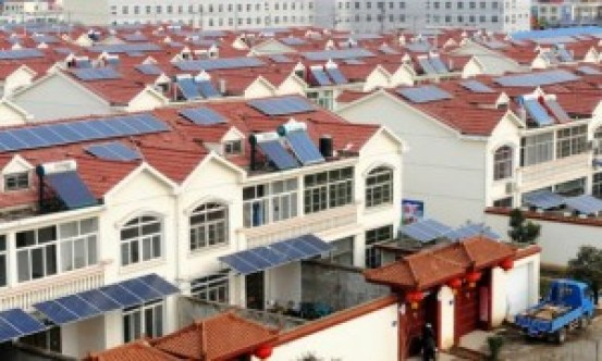 solar roofs in China